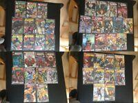 Bundle Of Panini Marvel Comics & Titan DC Comics (DC Universe, Batman/Marvel Legends & More)