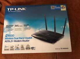TP-Link N600 ADSL2+ modem router