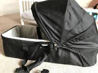 Baby jogger carry cot for double buggy