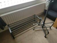 Matching shoe & coat rack - Ikea