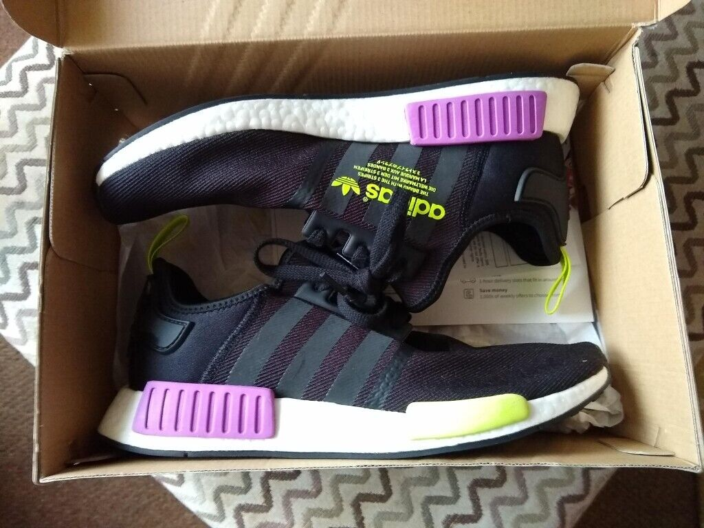 38cd577ca7611 Adidas NMD R1 Boost Size UK10 Boxed