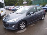 Peugeot 308 S DT,1560 cc 5 door hatchback,FSH,full MOT,clean tidy car,runs and drives well,great mpg