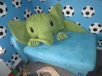 Kids Sofa Bed With Storage,
