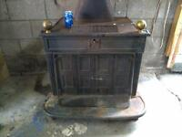 Antique Wood Stove from 1869