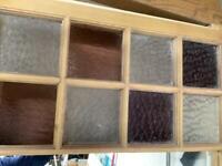 Reclaimed sash window/mirror