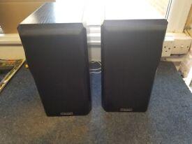 Mission Black Bi-Wire Floor Standing Speakers, Model 751