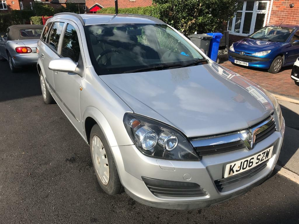 Vauxhall Astra Estate - Silver - 06 plate - Great Car   in ...