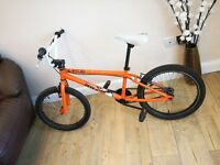 Orange BMX bike