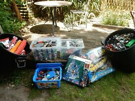 vast quantity of lego
