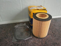 Hengst E106H D34 Oil Filter. BMW E36, 46 & Z4 with gaskets. NEW.