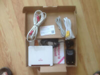 Ex Plusnet 2704n Fiber To The Cabinet/ADSL/VDSL/ Modem/Router
