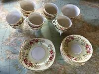 Coldough china tea set ideal for parties and weddings