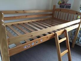 MID-SLEEPER BED
