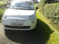 2009 FIAT 500 POP 1.2 ** FULL SERVICE HISTROY ** WHITE