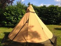 Tent for sale: Tentipi Varrie/Safir 5 CP with comfort groundsheet