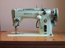 Singer Sewing Machine 319K and Table