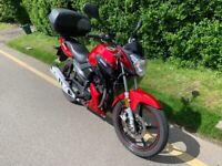 Lexmoto, ASPIRE, 2017, 125cc Manual Motorcycle Great Learner / commuter Bike