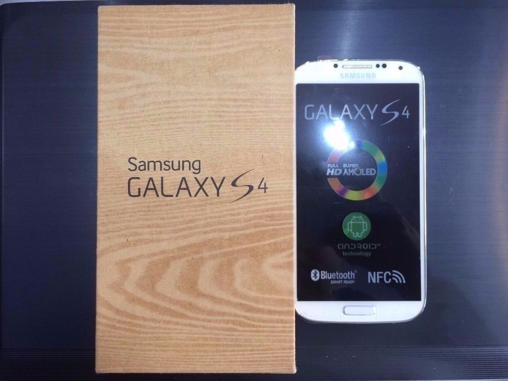 SAMSUNG S4 WHITE (BOXUNLOCKED16 GBVISIT MY SHOPNEW COND1 YEAR WARRANTYin Newham, LondonGumtree - SAMSUNG S4 WHITE, 16 GB MEMORY working perfectly. The phone is like NEW and is UNLOCKED compatible with any Sim. 1 YEAR WARRANTY ON THE PHONE. 425, High Road, ILFORD, IG1 1TR ( 5 10 MINS FROM ILFORD STATION ) ( 1 YEAR WARRANTY ) The Phone comes with...