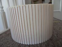 Large Fabric Tapered Lamp Shades Table / Floor Cotton Lampshade Lounge Lighting