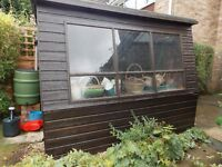 Good sized Garden shed 8ft x 6ft x 6ft