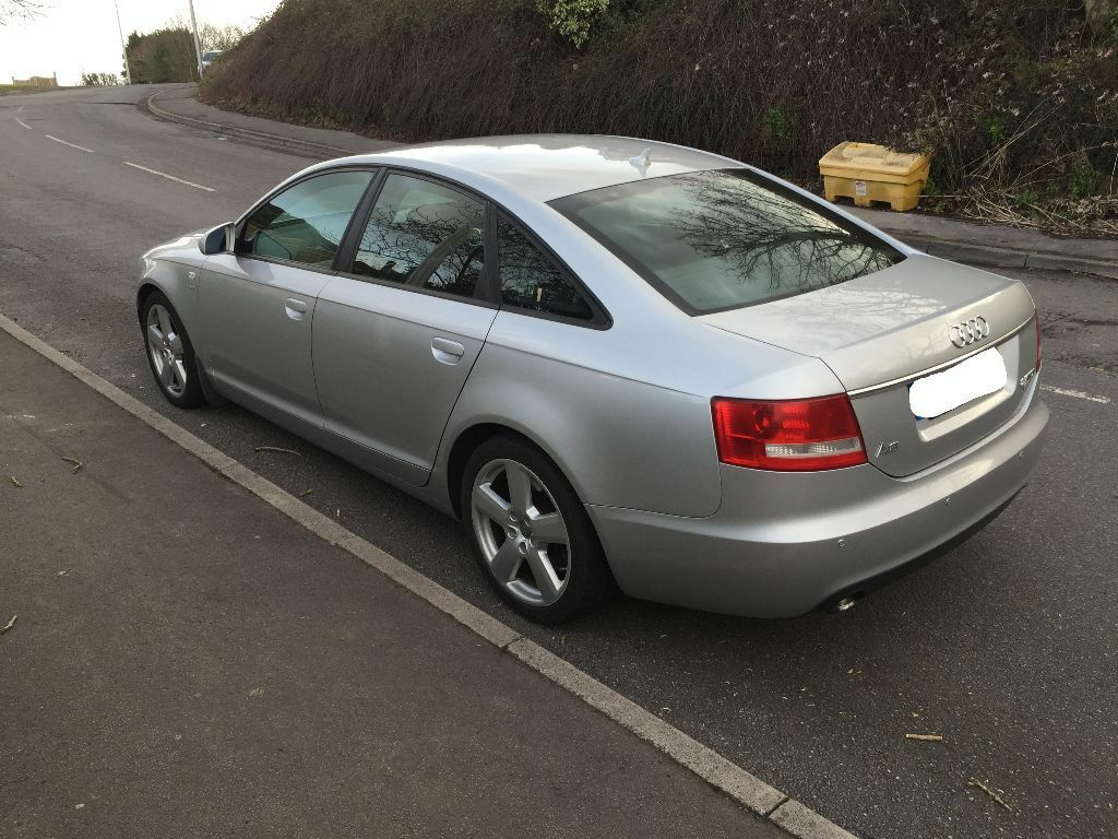 2005 audi a6 2 7 tdi s line silver saloon manual nav in. Black Bedroom Furniture Sets. Home Design Ideas