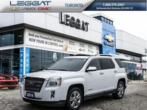 2014 GMC Terrain SLT-2, Leather, Chrome Wheels and much more..