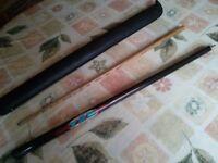 2-piece snooker cue