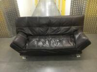 Leather sofa bed •free delivery