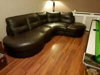Sold......... Brown Corner Sofa