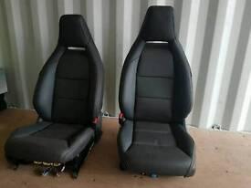 Mercedes CLA front seats