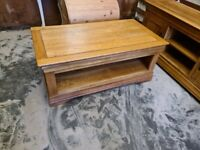 Solid Oak Coffee Table from Oak Furnitureland (French Farmhouse Range) (Delivery Available)