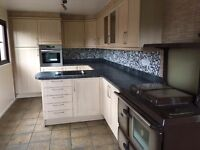 Kitchen units, inc electric oven and sink