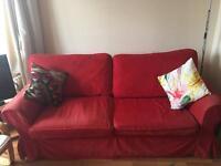 IKEA Ektorp double sofa bed