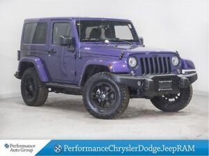 2017 Jeep Wrangler Sahara * XTREME Purple * Nav * Dual Tops