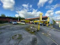 Hand Car Wash Valeting Business For Sale - Busy Main Road - Next To City Centre - Large Land