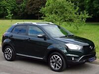 1 OWNER - 2016 (66) Ssangyong Korando 2.2 TD LE Station Wagon 5dr - JUST 6,000 MILES ONLY