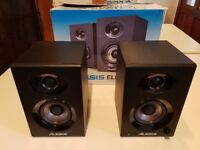Alesis Elevate 3 Powered Desktop Studio Speakers - Excellent condition - absolute bargain -