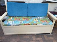 Garden seat with storage space good condition