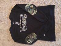 VANS sweater - NEW with tags!!