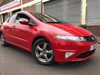 Honda Civic 2011 1.4 i-VTEC Si Hatchback 5 door 1 YEAR WARRANTY, HUGE SPEC, LOW MILEAGE, BARGAIN