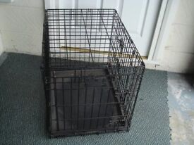 Dog cage (well used)