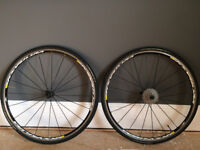Mavic Ksyrium Equipe S Wheelset 2015 [Shimano 105 Cassette | GP 4000s II] Bike | Bicycle | Wheels
