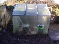 Used greenhouse for sale £75 - will require to be dismantled and taken away