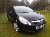 Vauxhall Corsa, 5300 Miles, very good condition