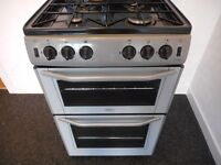 BELLING DOUBLE ALL GAS COOKER **BLACK / GRAPHITE**