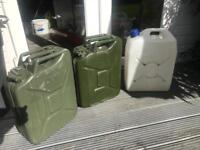 20l Jerry Cans ex military fuel containers