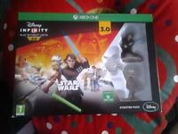 new and unopened xbox one disney infinity 3.0 starter set with game, base and characters £10