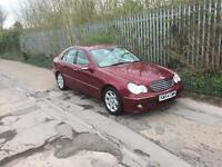 MERCEDES C200 2.1 ELEGANCE FACELIFT MODEL DIESEL AUTOMATIC