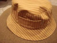 chapeau sanibel fabriqué au canada en coton pour enfant