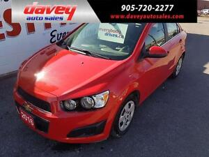 2016 Chevrolet Sonic LT Auto REMOTE STARTER, HEATED SEATS, BA...